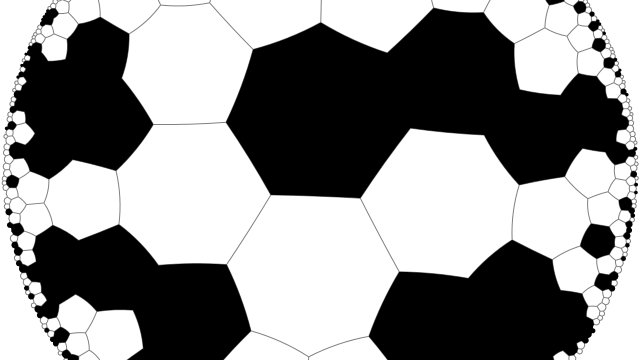 Random cells on a {7;3} tiling